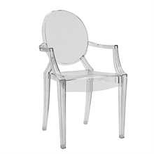 Louis Ghost stol - Philippe Starck - Kartell